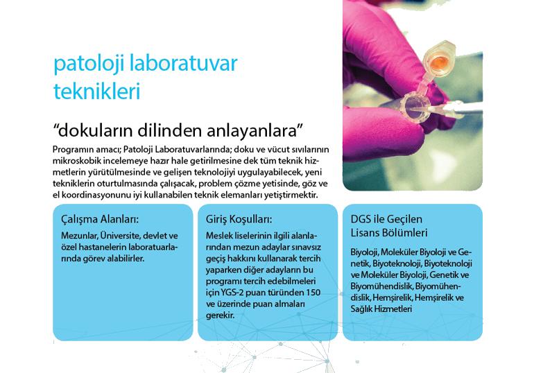 İstanbul Kavram Meslek Yüksekokulu Patoloji Laboratuvar Teknikleri