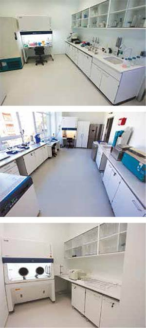 Yeditepe Üniversitesi Mikrobiyoloji Laboratuvar