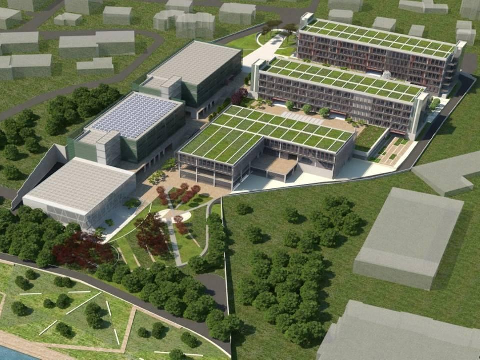 Piri Reis Üniversitesi Yeşil Kampüs