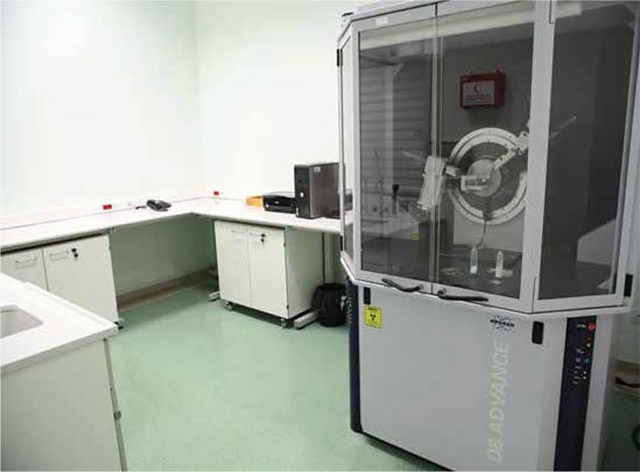 Yeditepe Üniversitesi XRD Laboratuvarı