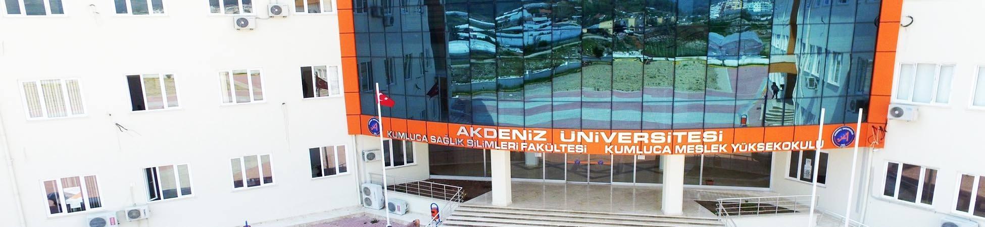 Akdeniz Üniversitesi Kumluca Sağlık Bilimleri Fakültesi
