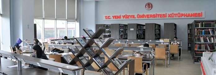 Yeni Yüzyıl Üniversitesi Kütüphanesi