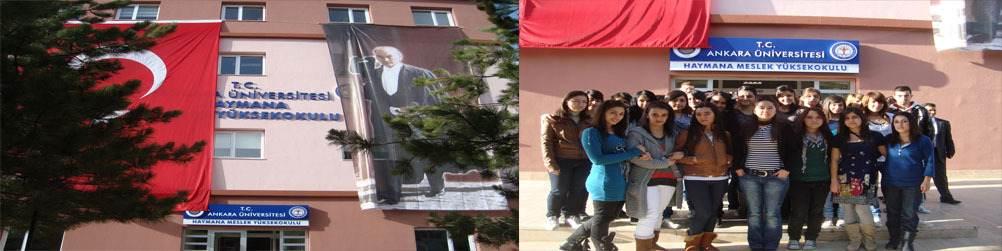 Ankara Üniversitesi Haymana Meslek Yüksekokulu